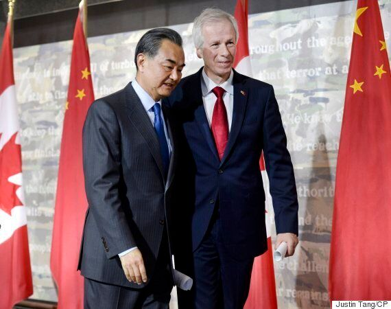 Stephane Dion Chastised For Staying Silent As Chinese Minister 'Berated' Canadian