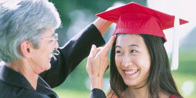 Female Graduate with