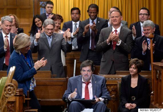 MPs Break Out In 'O Canada' After Most Vote For Gender-Neutral