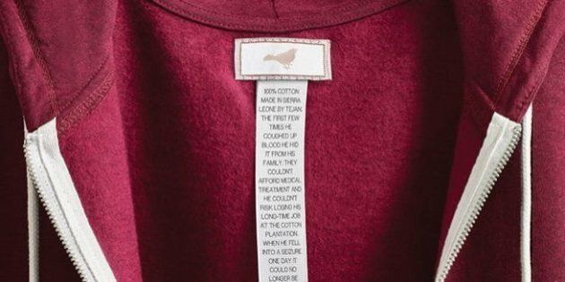 These Powerful Labels Show The True Stories Behind The Making Of A Clothing