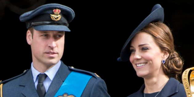 Photo by: KGC-178/STAR MAX/IPx 3/13/15 Prince William The Duke of Cambridge and Catherine The Duchess of Cambridge at St. Paul's Cathedral to attend the Service To Mark The End Of Combat Operations In Afghanistan. (London, England, UK)