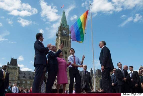 Pride Flag Flies On Parliament Hill For The First