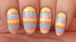 Add A Pop Of Colour To Your Look With Scalloped Nail