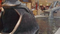 Thar She Blows! West Edmonton Mall Whale