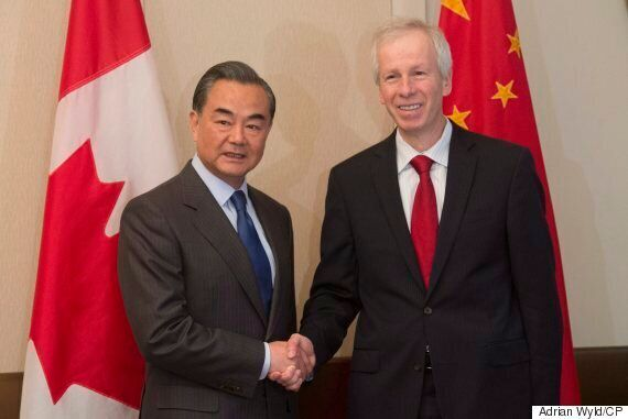 China's Foreign Minister Scolds Canadian Journalist For Human Rights