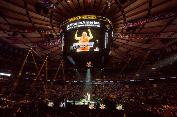 An Event in Madison Square Gardens Was Shrewd of India's