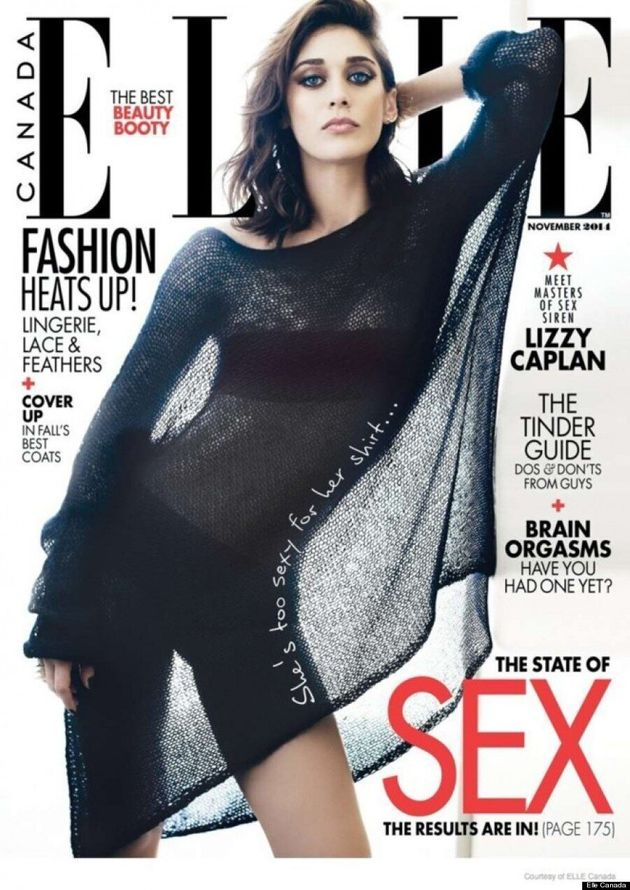 Lizzy Caplan's Sexy Elle Canada Cover Makes Us