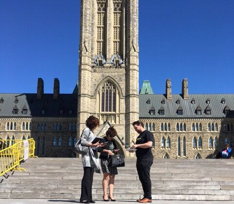 No Nanny: Students For Liberty Take To Parliament Hill On World No Tobacco