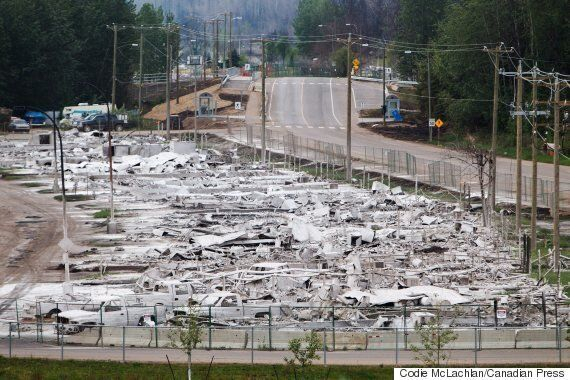 Fort McMurray Fire: Road Blocks Lifted As Residents Allowed To Return To