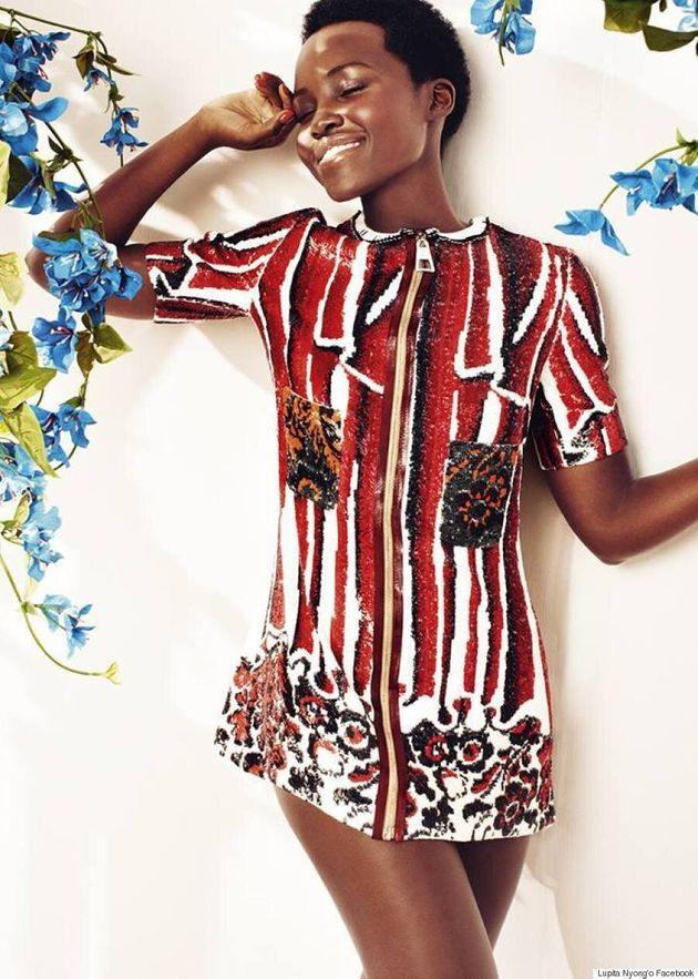 Lupita Nyong'o Is Spring-Ready On The Cover Of Harper's Bazaar