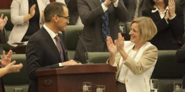 Alberta Budget 2015: Notley And Her Cabinet In Edmonton, Calgary To Defend