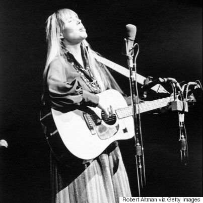 Joni Mitchell Hospitalized In Los
