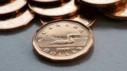 Loonie Falls Below 69 Cents In Longest Losing Streak