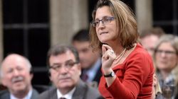Not Possible To Renegotiate The TPP, Freeland