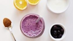 Boost Your Healthy Gut Bacteria With This Kefir Blueberry Citrus