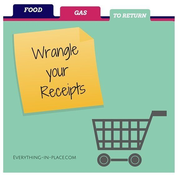 Wrangle Your Receipts In