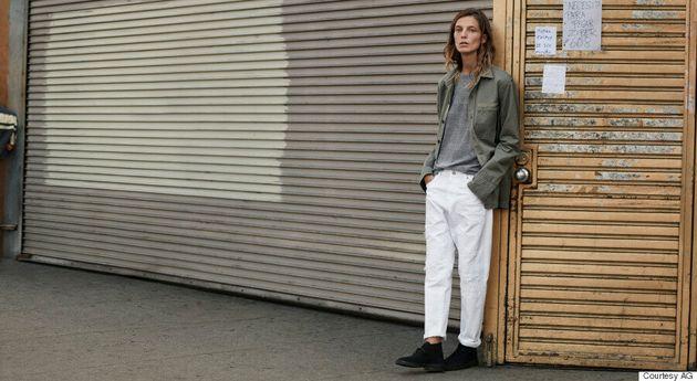 Daria Werbowy Stars In AG's Gender-Neutral
