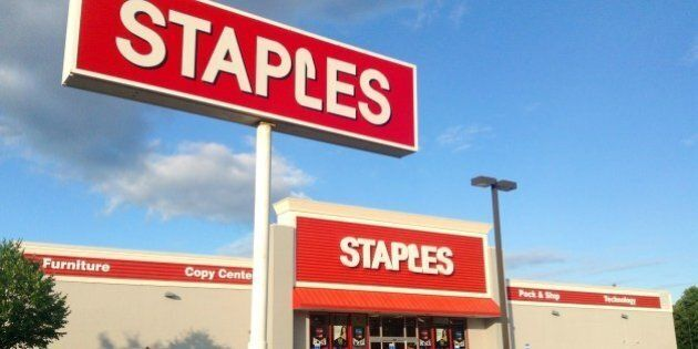 Staples, Office Supplies, Branford, CT. 8/2014 by Mike Mozart of TheToyChannel and JeepersMedia on