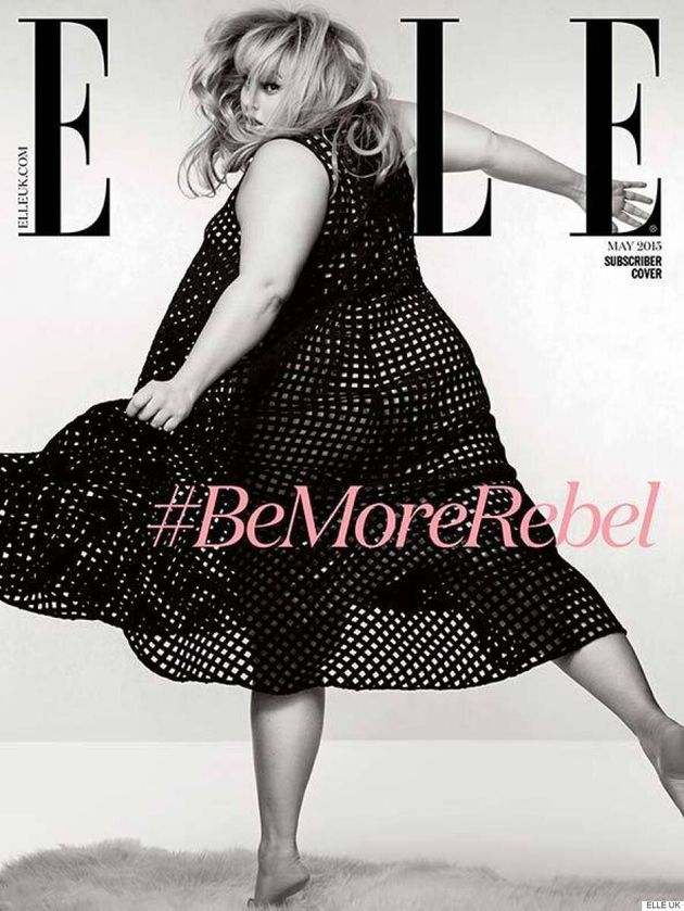 Rebel Wilson Is Retro Glam On The Cover Of Elle