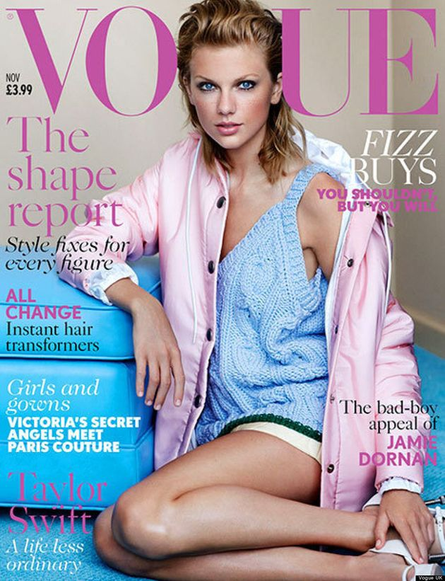 Taylor Swift's Vogue UK Debut Shows Her Pop Star