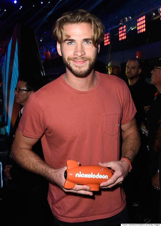 Liam Hemsworth Rocks Middle-Parted '90s Hair, Makes Us