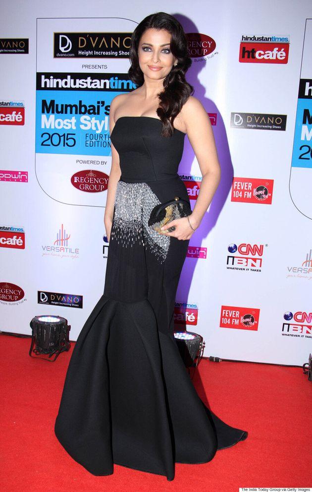 Aishwarya Rai Bachchan Sparkles At 2015 Hindustan Times Mumbai's Most Stylish Awards
