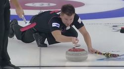 This Is Just About The Best Curling Shot We've Ever