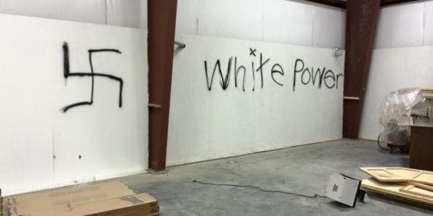 Vandals Spray-Paint Swastikas In Ponoka Gym, Trash Sports