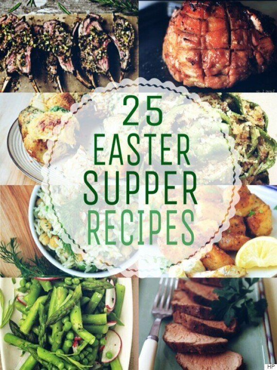 25 Easter Dinner Ideas The Whole Family Can