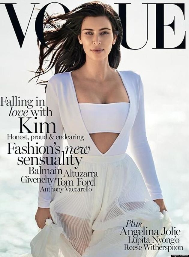 Kim Kardashian Gets A Second Vogue Cover Without Kanye