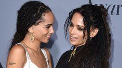 Lisa Bonet And Zoe Kravitz Look Like Sisters In New CK