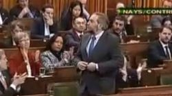 NDP MPs Vote Verrry Slllllowly To Protest And Annoy
