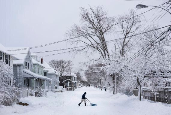 Atlantic Canada Hit With First Major Storm Of