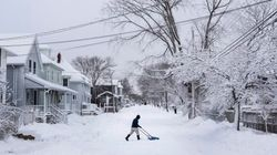 Major Maritimes Snowstorm Shuts Down Power, Schools,