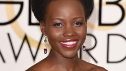 Lupita Nyong'o Brings Flower Power To The