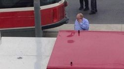Rob Ford Spotted At Scene Of Fatal Streetcar