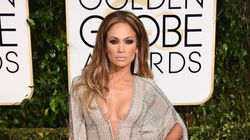 JLo's Globes Dress Leaves Nothing To The