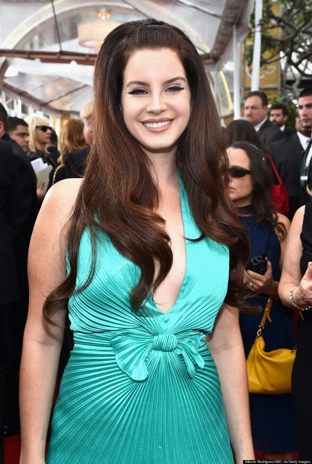 Lana Del Rey's 2015 Golden Globes Dress Might Be Voted Worst