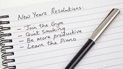 Five Reasons Why New Year's Resolutions Don't