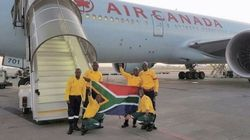 300 South African Firefighters Arrive In