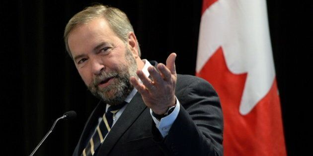 Mulcair Promises Proportional Representation If NDP Wins Next