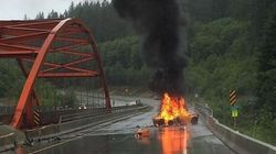 That B.C. Highway Fire Is A $260,000 Sports