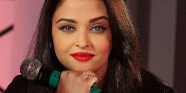 MUMBAI, INDIA - JANUARY 07: Aishwarya Rai Bachchan attends the L'Oreal Paris' Moist Matte Collection...