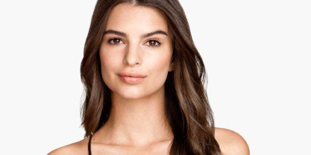 Emily Ratajkowski Models Lingerie For