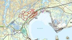 Quebec Delibertes Canada's Largest Open-Pit Mine Inside A