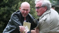 Protester Tackled By Kevin Vickers Holds No
