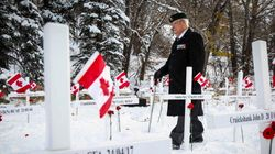 Calgarians Brave Frigid Cold For Remembrance