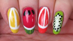 Celebrate The Arrival Of Patio Season With This Fun Fruity Nail