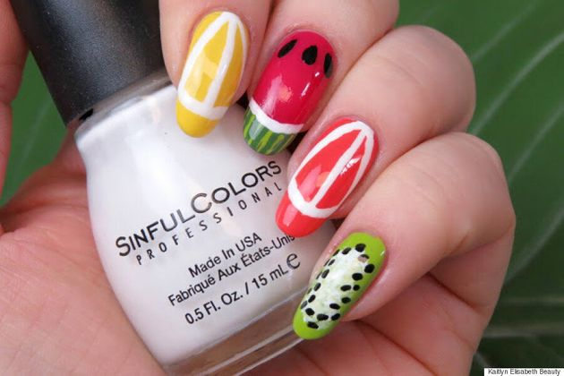 Nail Art: This Fun Fruity Design Is Perfect For