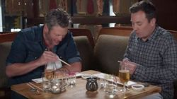 It's Obvious Blake Shelton Has Never Had Sushi